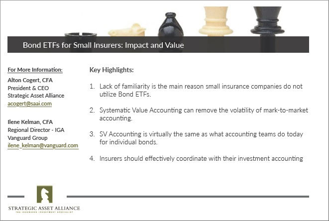 Bond ETFs for Small Insurers: Impact and Value